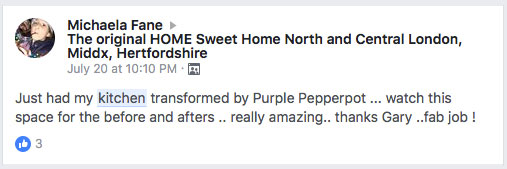 purple pepperpot testimonial